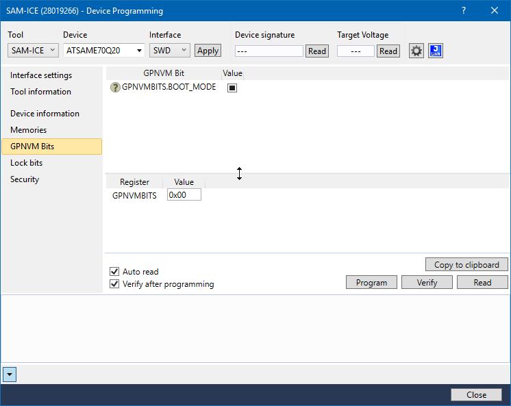 Cortex-M7s in Atmel Studio 7 0 1417, debugging failure and